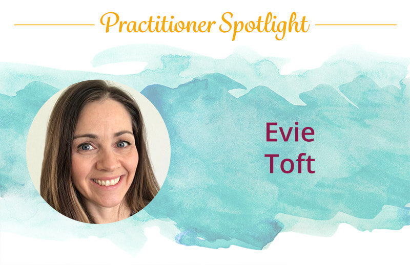 Evie Toft, a Discover Healing practitioner of The Body Code and The Emotion Code