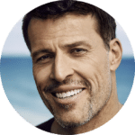 Philanthropist and Life Coach, Tony Robbins.
