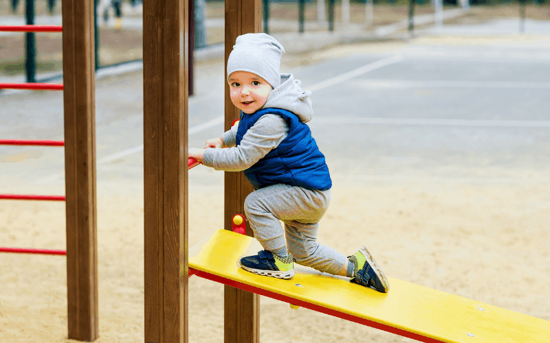 Removing the Heart-Wall of a Toddler Lets Him Play Again